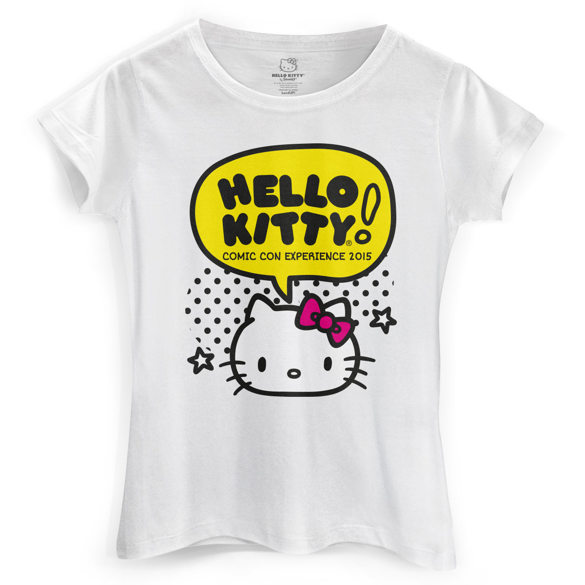 Camiseta Feminina Hello Kitty Comic Con
