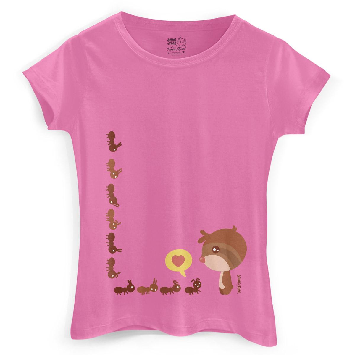 Camiseta Feminina Jaime Formigas