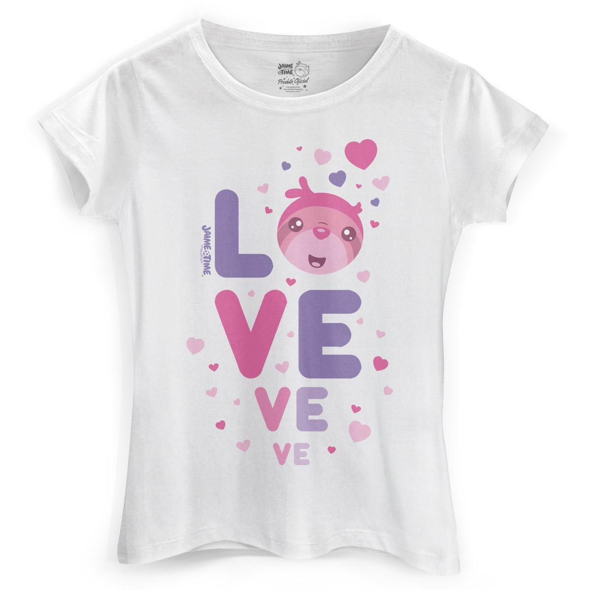 Camiseta Feminina Jaime Love Pink