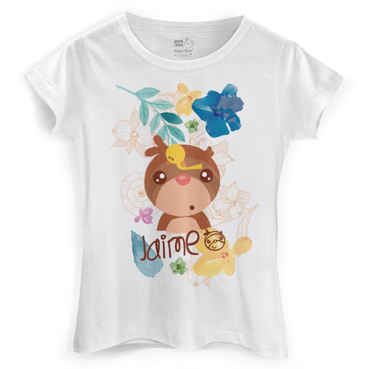 Camiseta Feminina Jaime Natureza