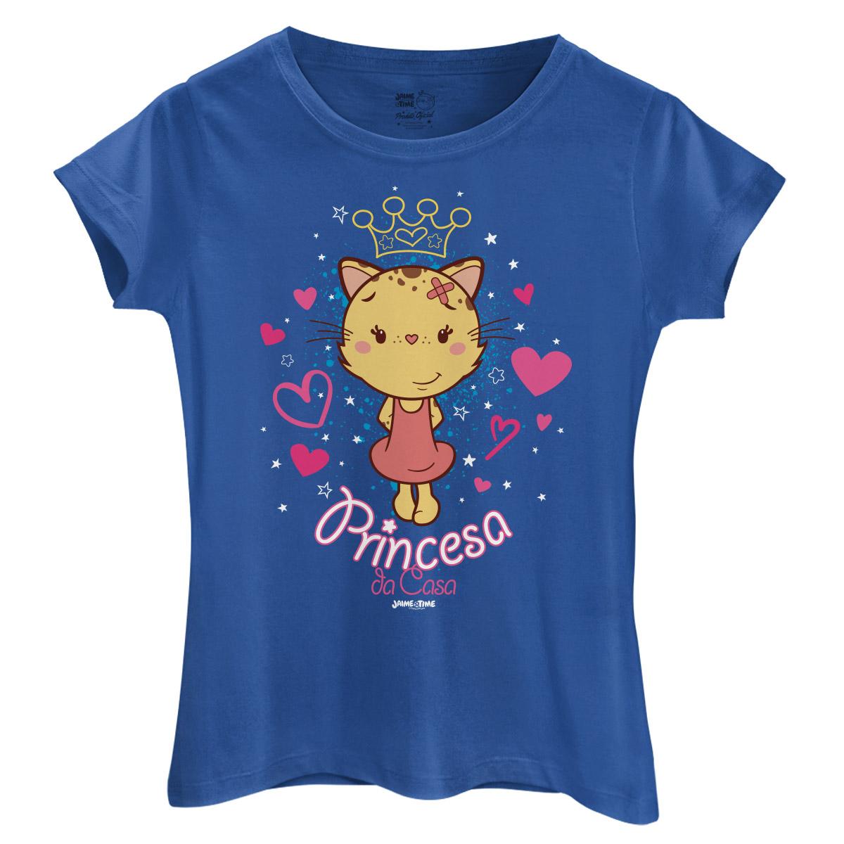 Camiseta Feminina Jaime Princesa da Casa
