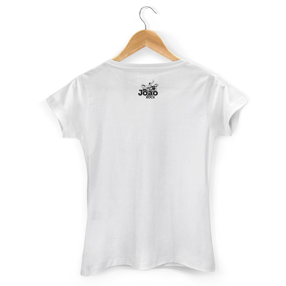 Camiseta Feminina Jo�o Rock Instrumentos