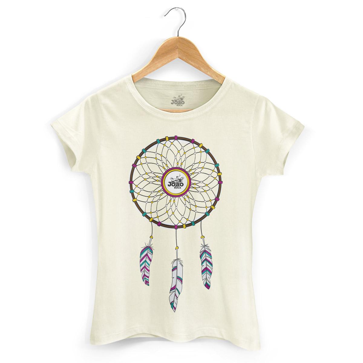 Camiseta Feminina Jo�o Rock Sonhos