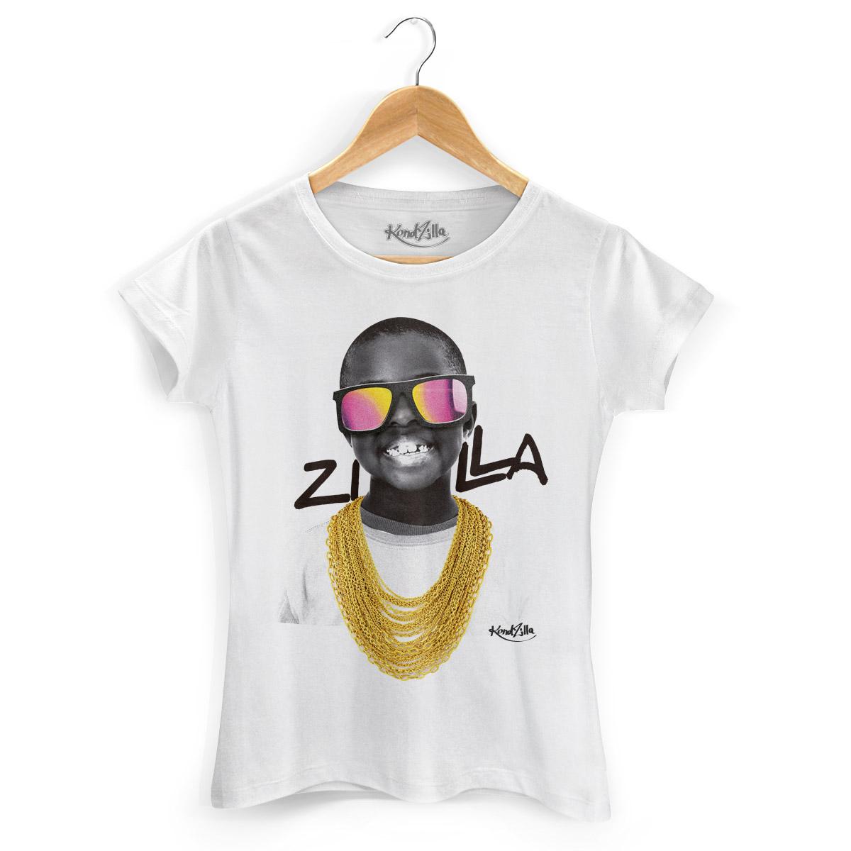 Camiseta Feminina Kondzilla Boy