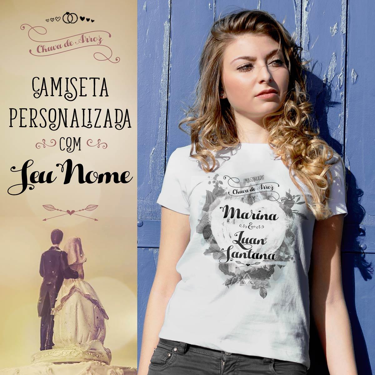 Camiseta Luan Santana Chuva de Arroz