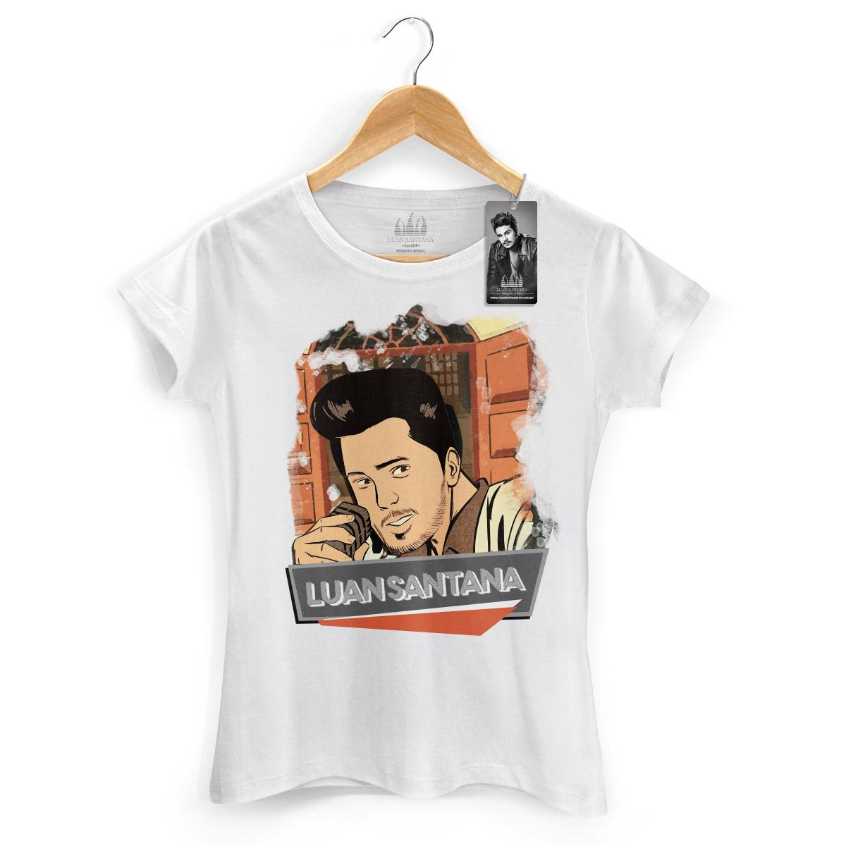 Camiseta Feminina Luan Santana Eu N�o Merecia Isso