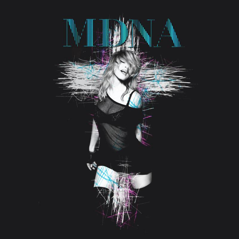 Camiseta Feminina Madonna Cross
