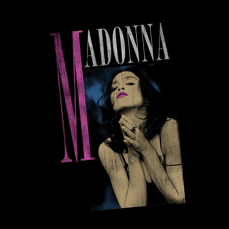 Camiseta Feminina Madonna Like a Prayer