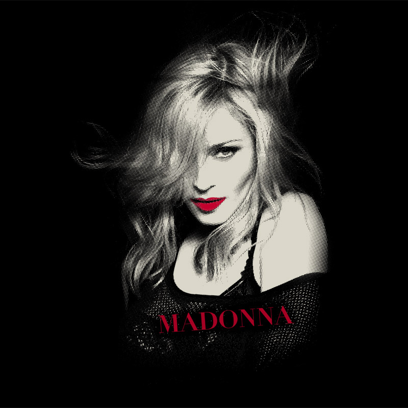 Camiseta Feminina Madonna Photo Tour
