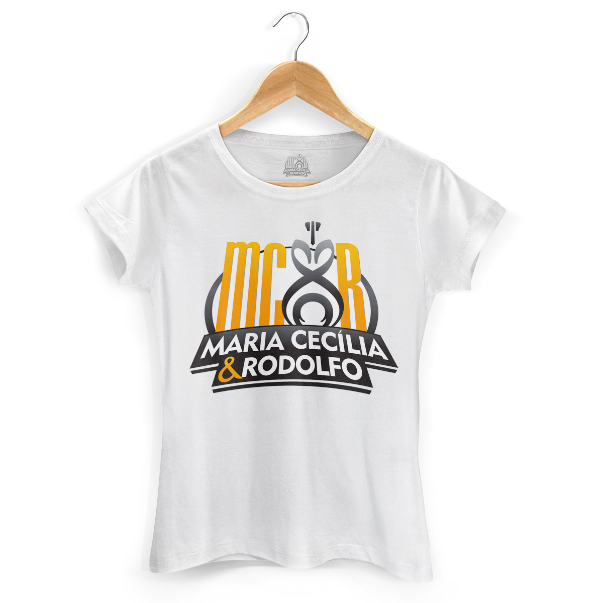 Camiseta Feminina Maria Cecília & Rodolfo Logo