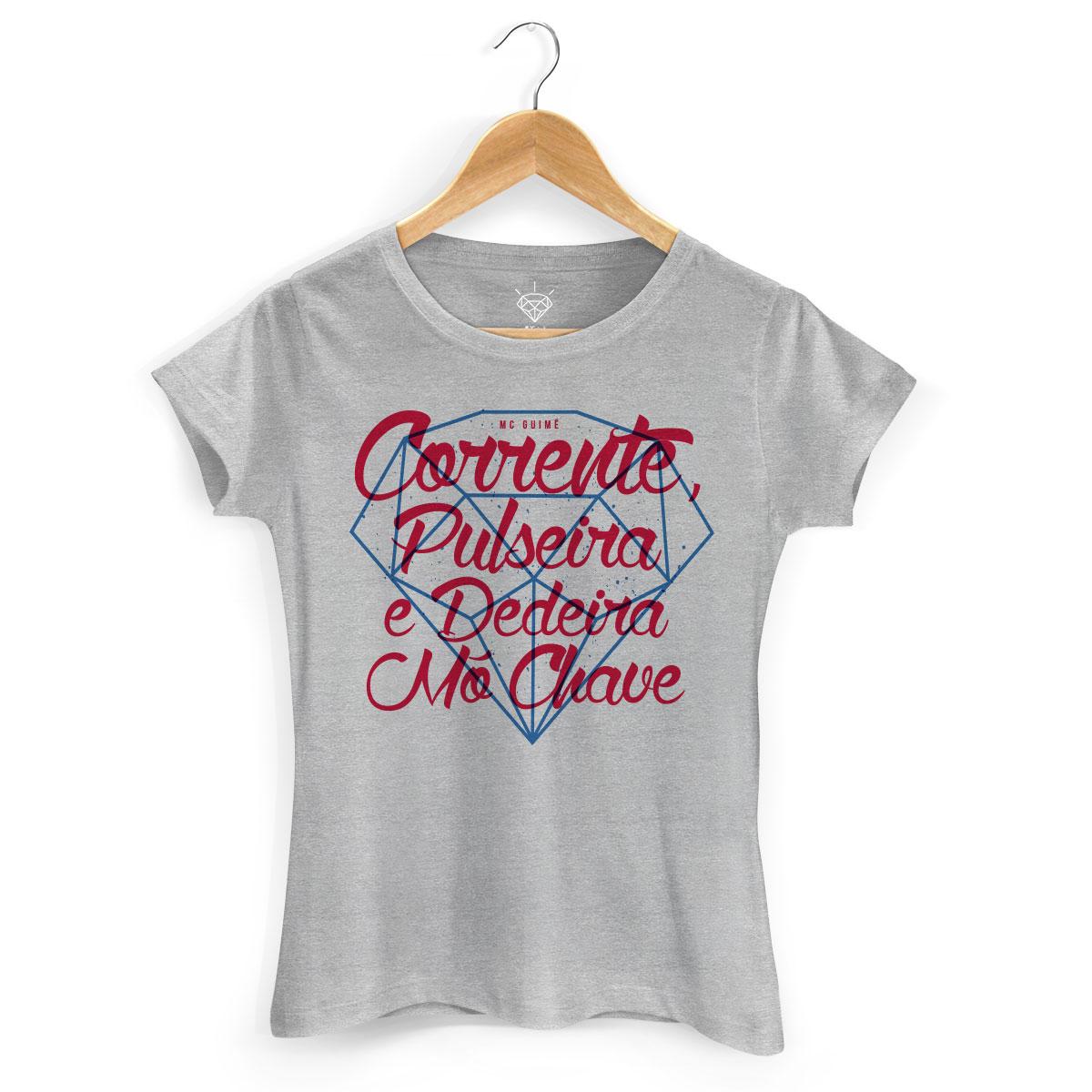 Camiseta Feminina MC Guimê Mó Chave