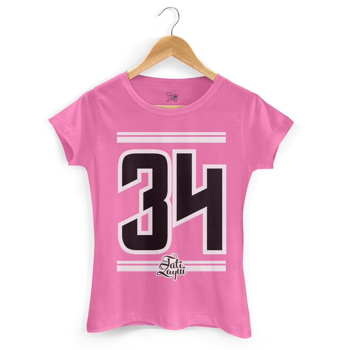 Camiseta Feminina MC Tati Zaqui 34