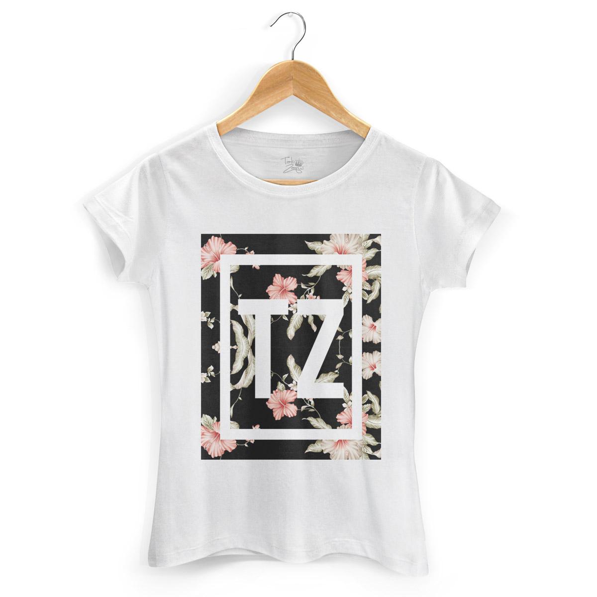 Camiseta Feminina MC Tati Zaqui Flowers