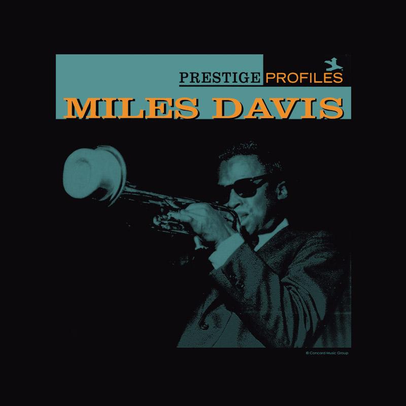 Camiseta Feminina Miles Davis Prestige Profiles
