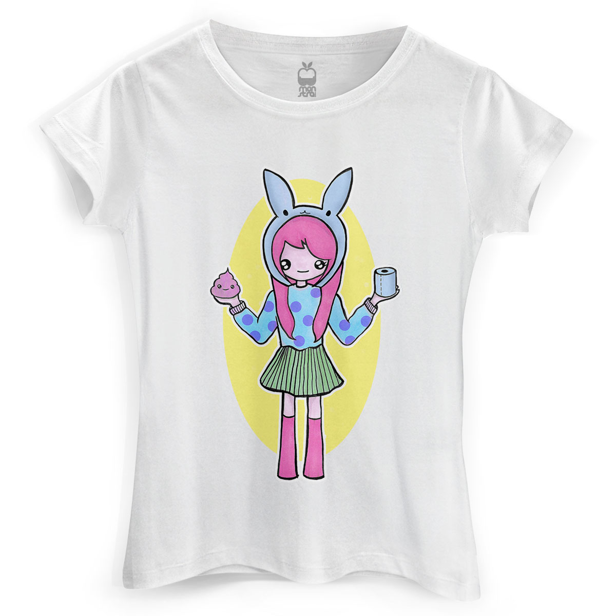 Camiseta Feminina Monstra Ma�� Scan Girl