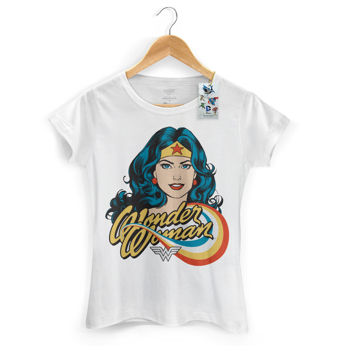 Camiseta Feminina Mulher Maravilha Photo