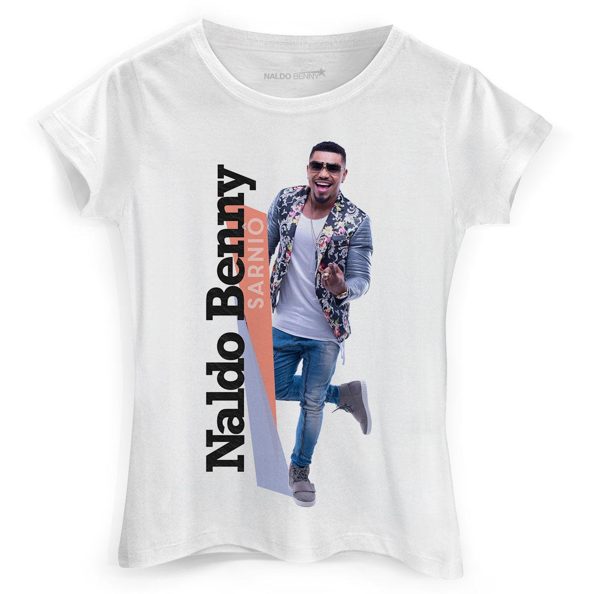 Camiseta Feminina Naldo Benny Sarniô