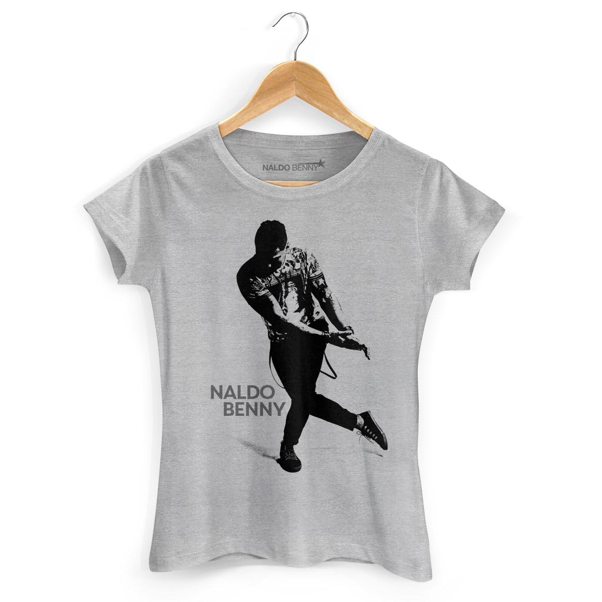 Camiseta Feminina Naldo Benny Se Joga