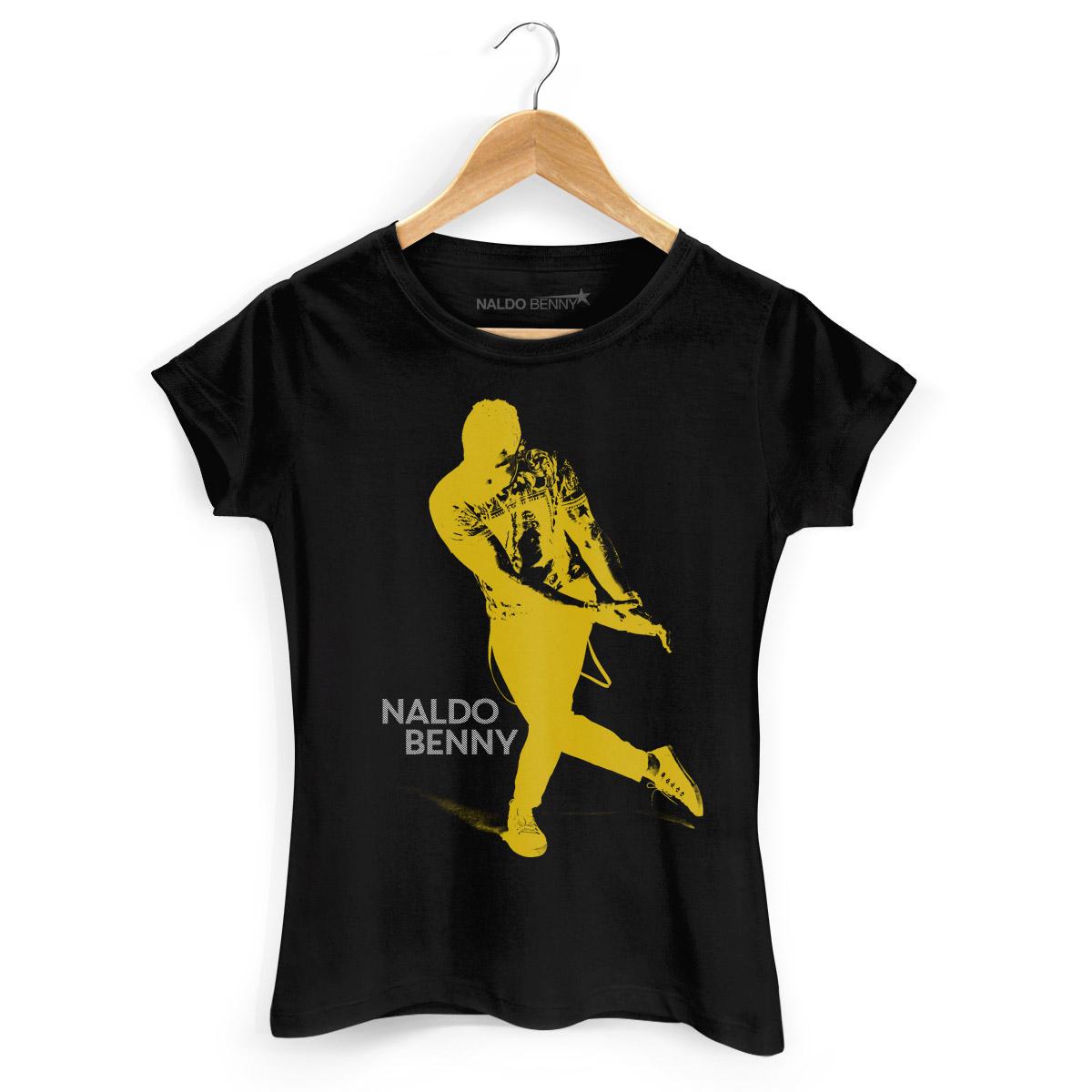 Camiseta Feminina Naldo Benny Se Joga Yellow
