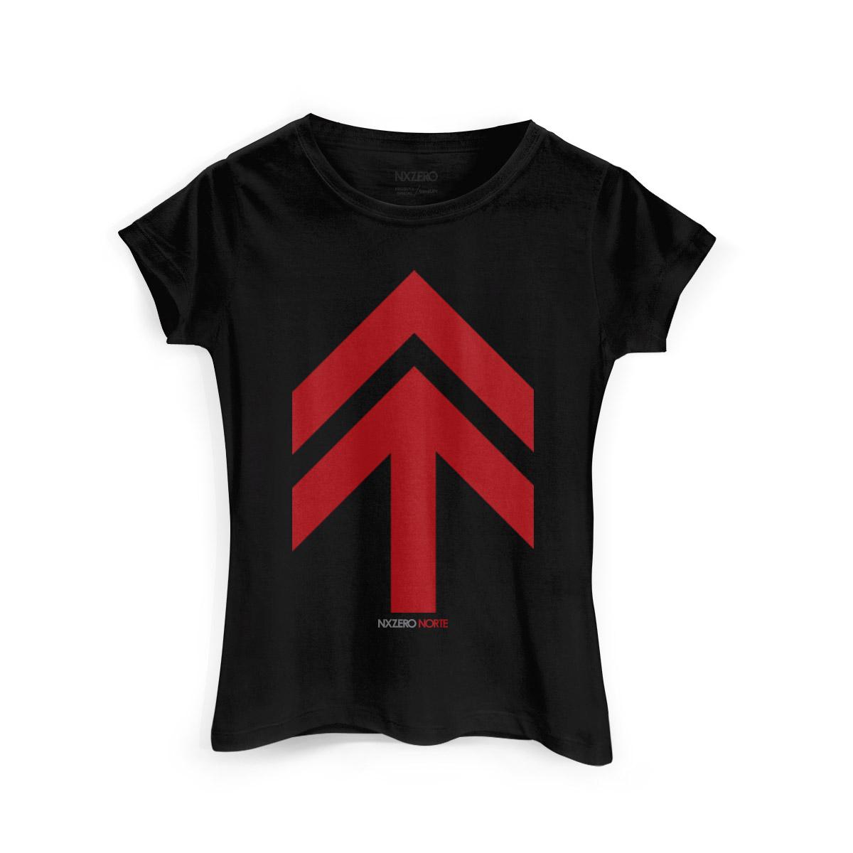 Camiseta Feminina NXZero Norte