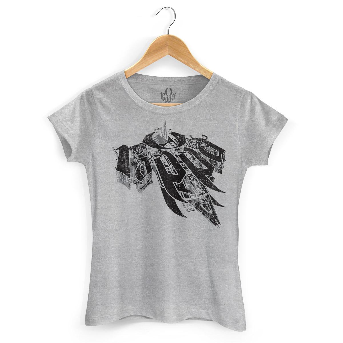 Camiseta Feminina O Rappa Nunca Tem Fim