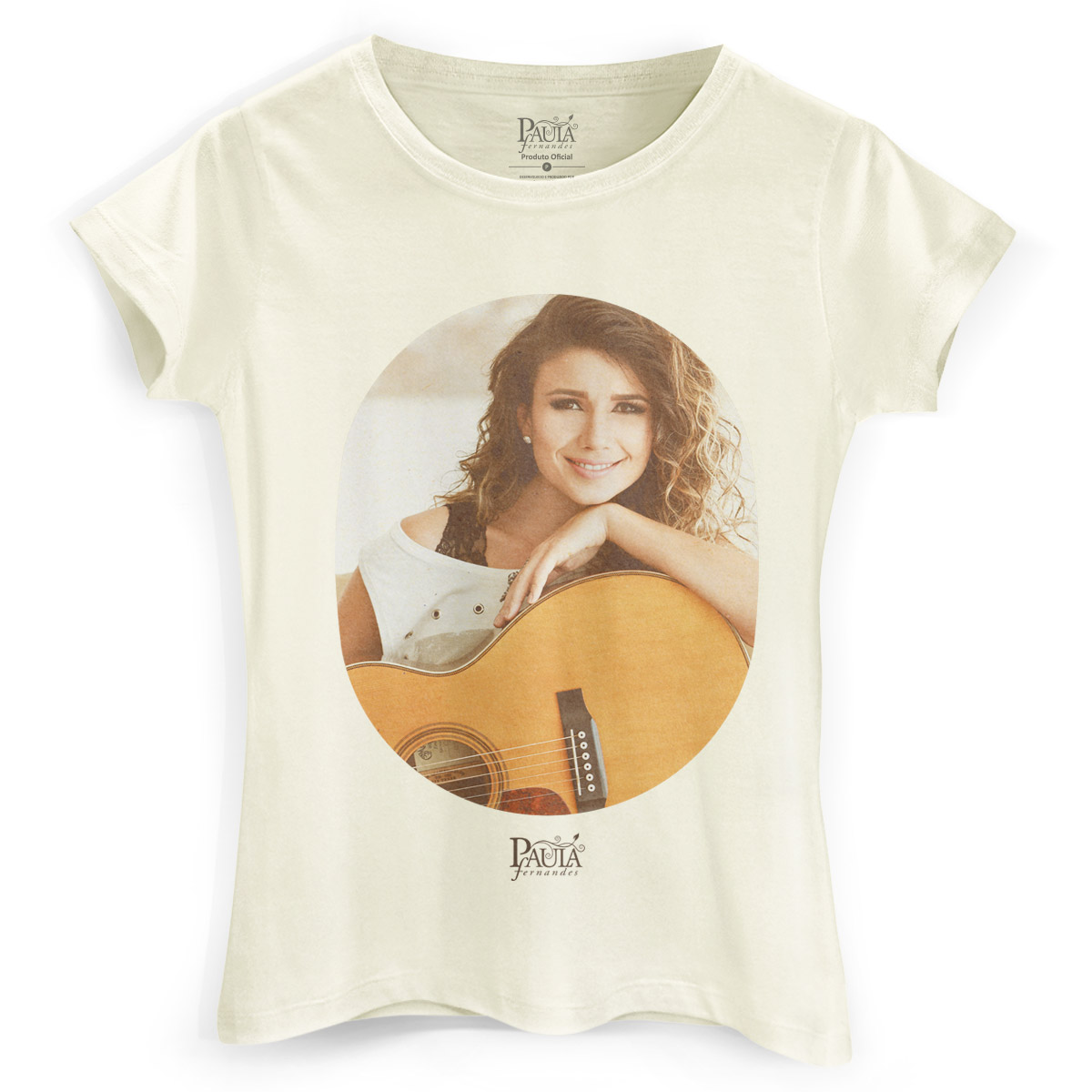 Camiseta Feminina Paula Fernandes A Paz Desse Amor