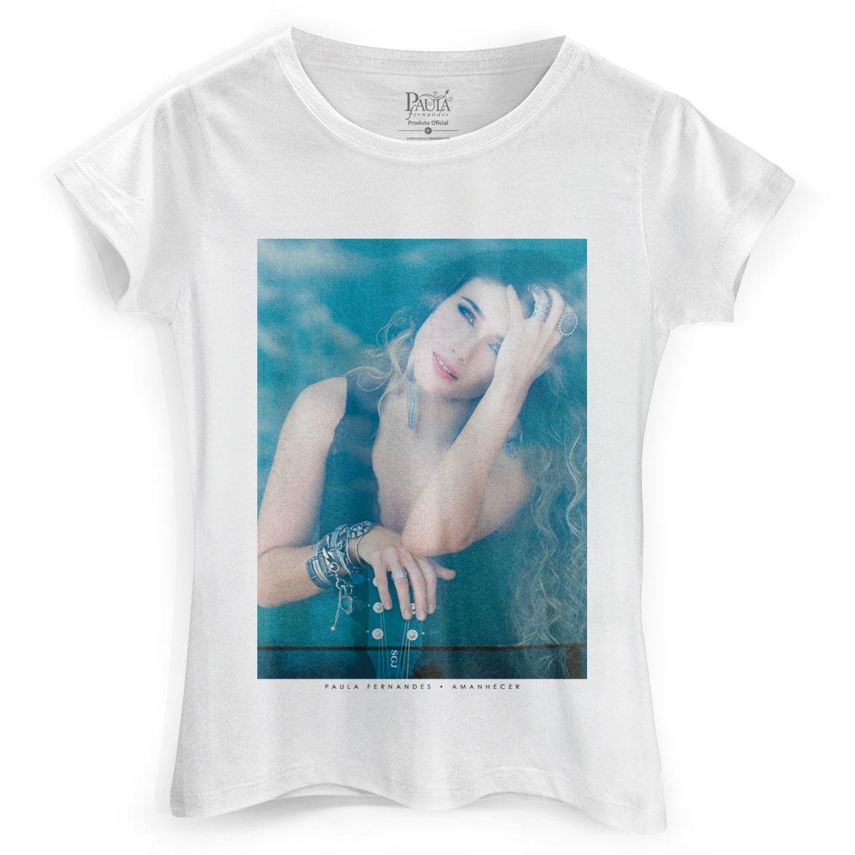 Camiseta Feminina Paula Fernandes Amanhecer Capa