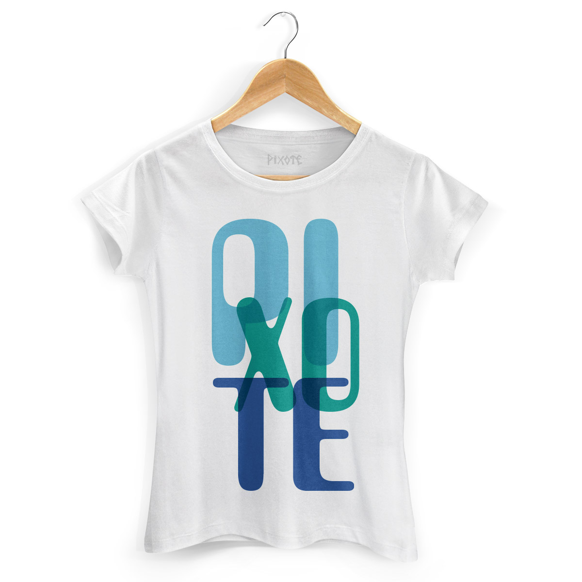 Camiseta Feminina Pixote Blue