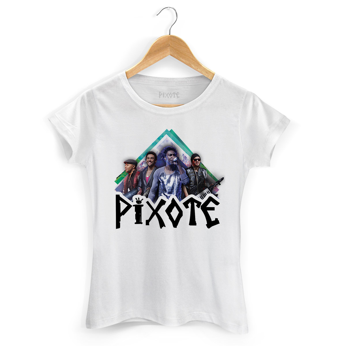 Camiseta Feminina Pixote Foto