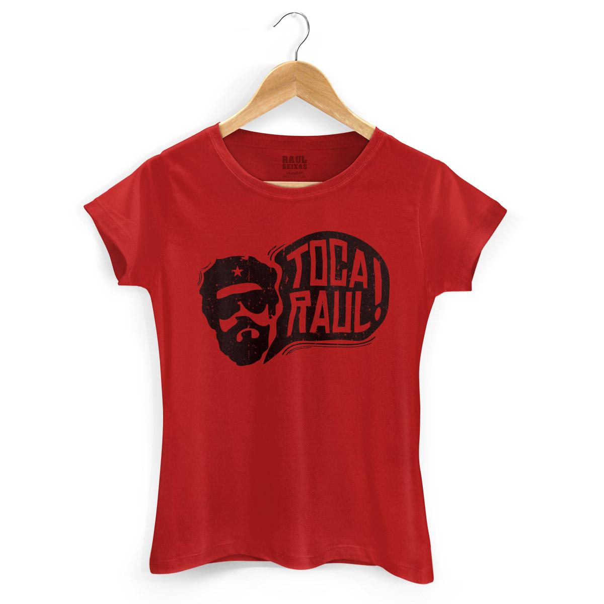 Camiseta Feminina Raul Seixas Toca Raul! 2