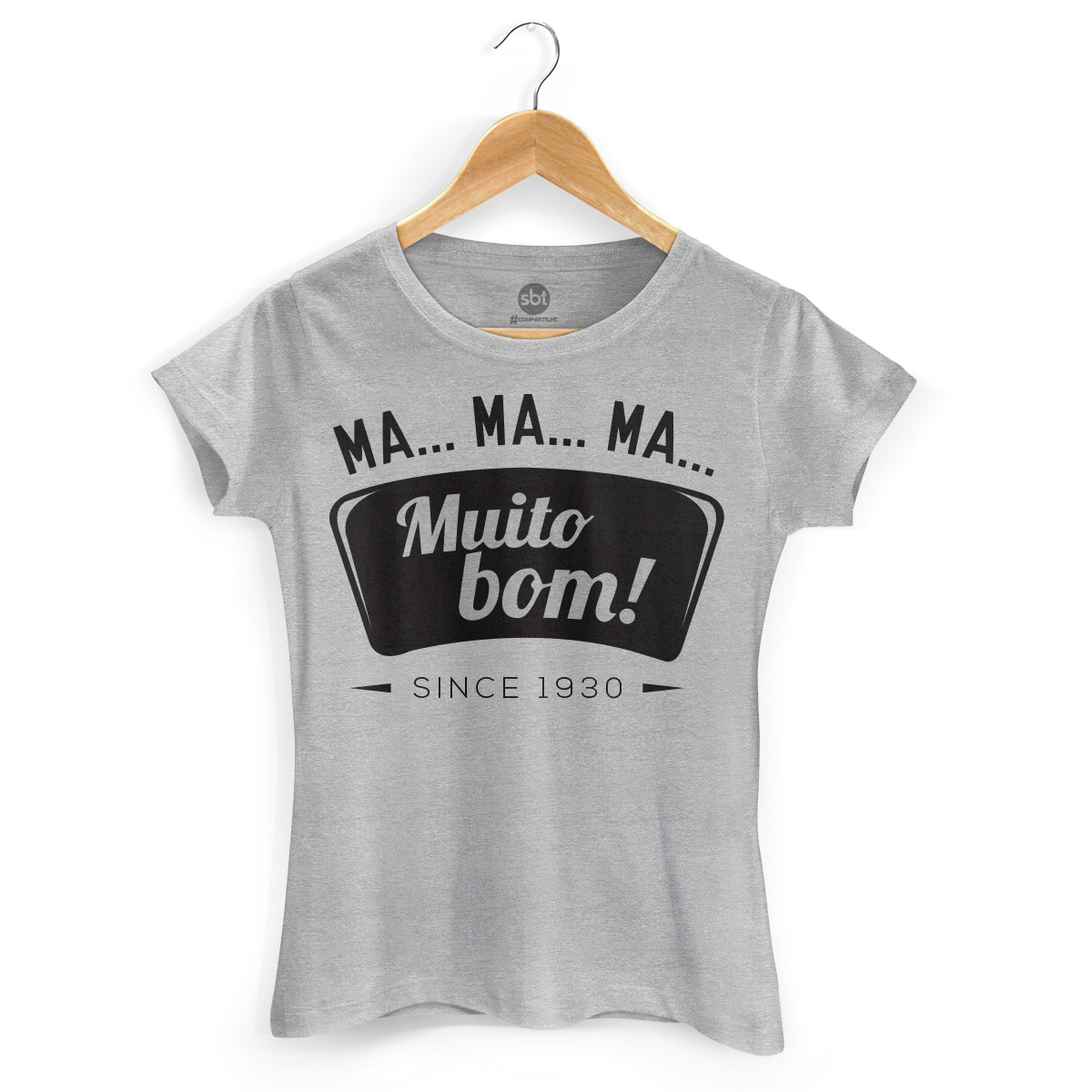 Camiseta Feminina SBT Muito Bom!
