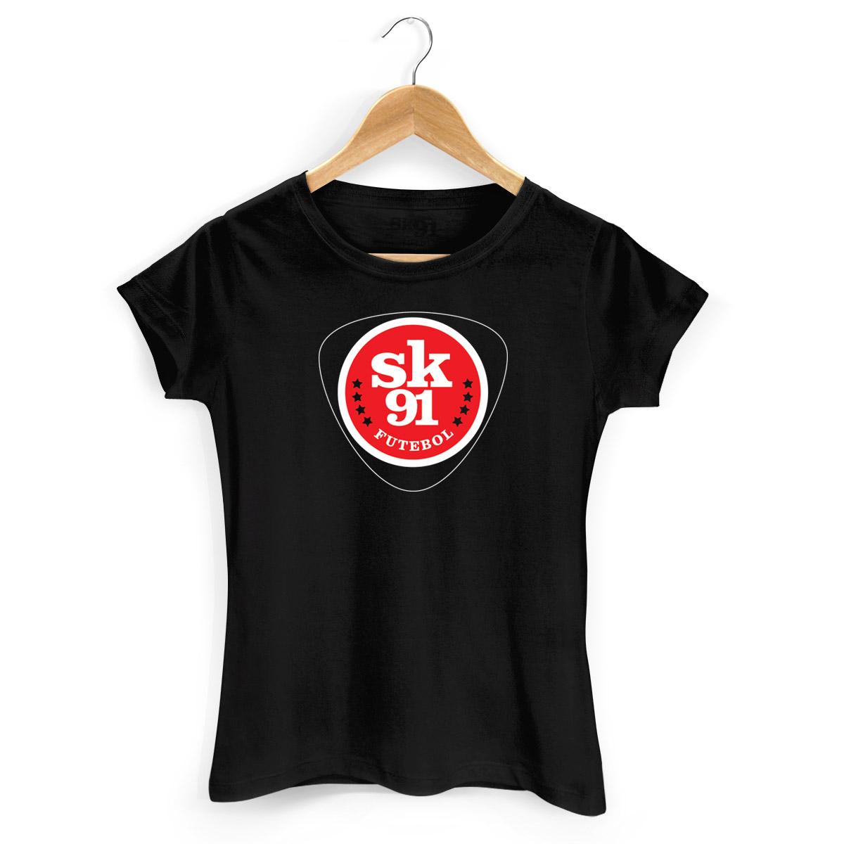 Camiseta Feminina Skank Sk91 Futebol