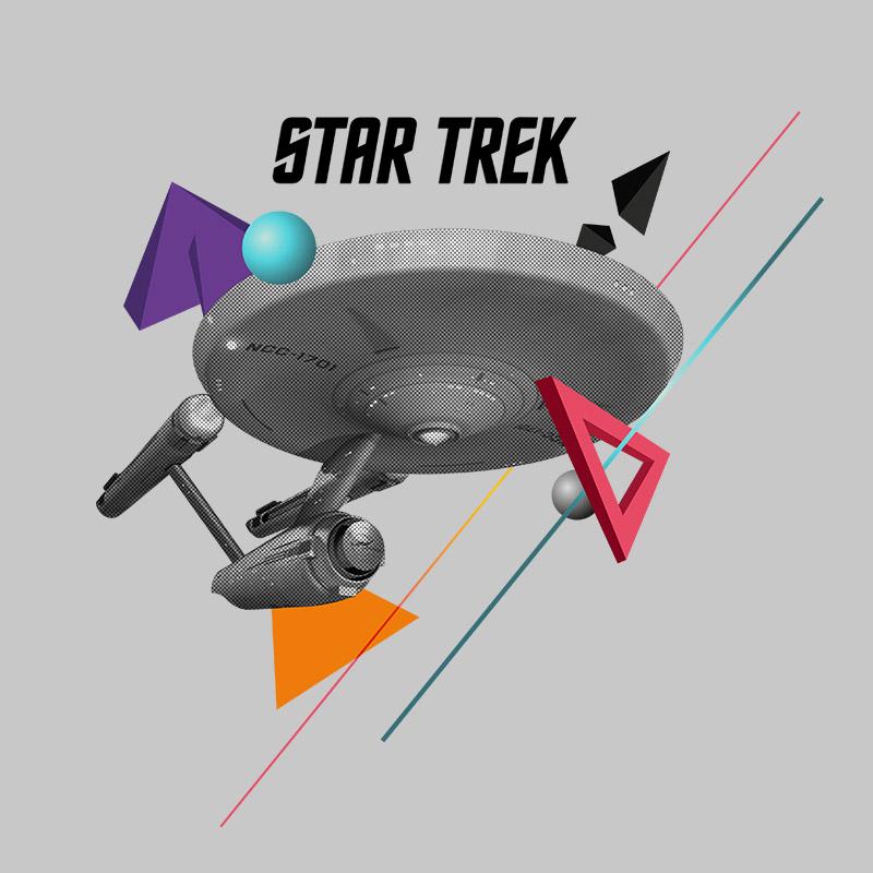 Camiseta Feminina Star Trek Enterprise