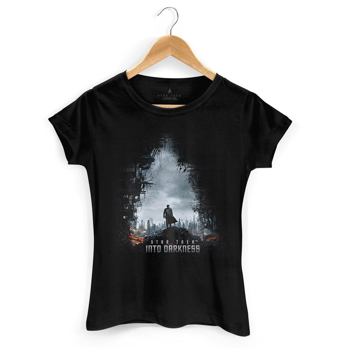 Camiseta Feminina Star Trek Into Darkness