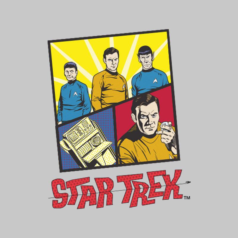 Camiseta Feminina Star Trek Mens Of