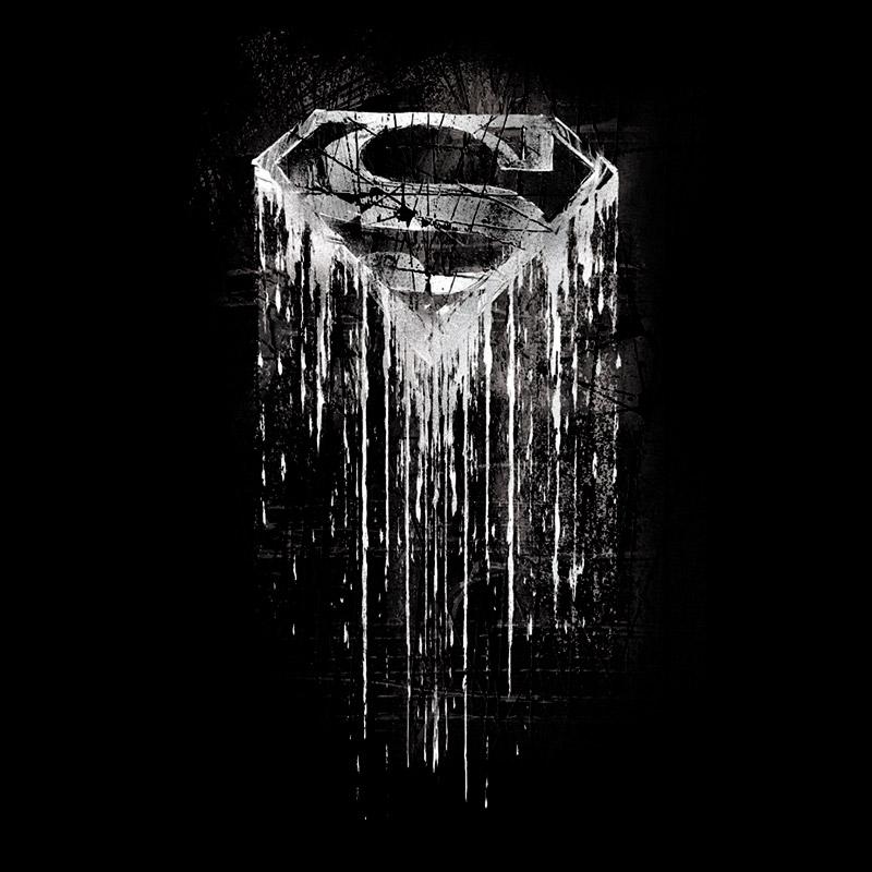 Camiseta Feminina Superman Steel Melting