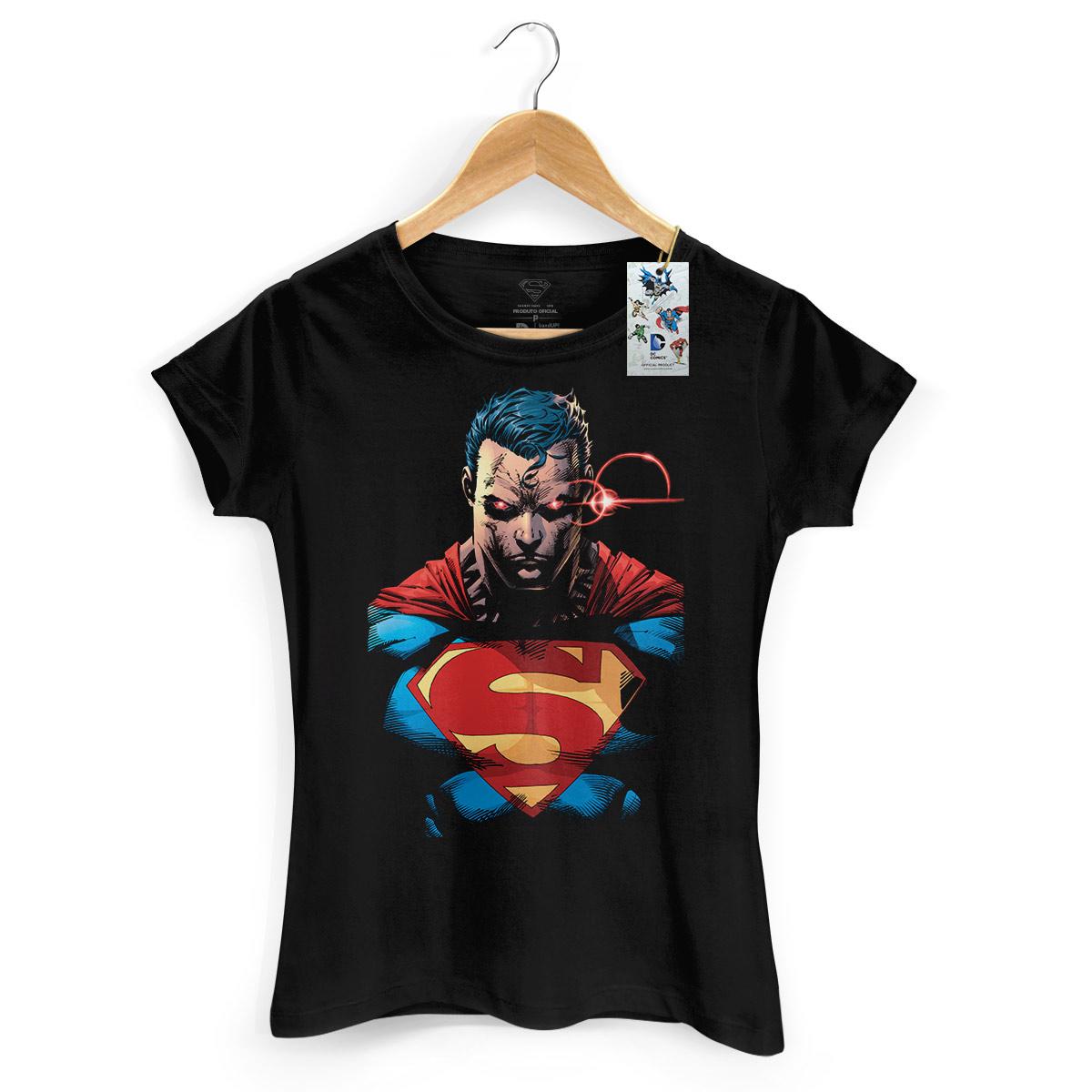 Camiseta Feminina Superman X-Ray Vision Colors