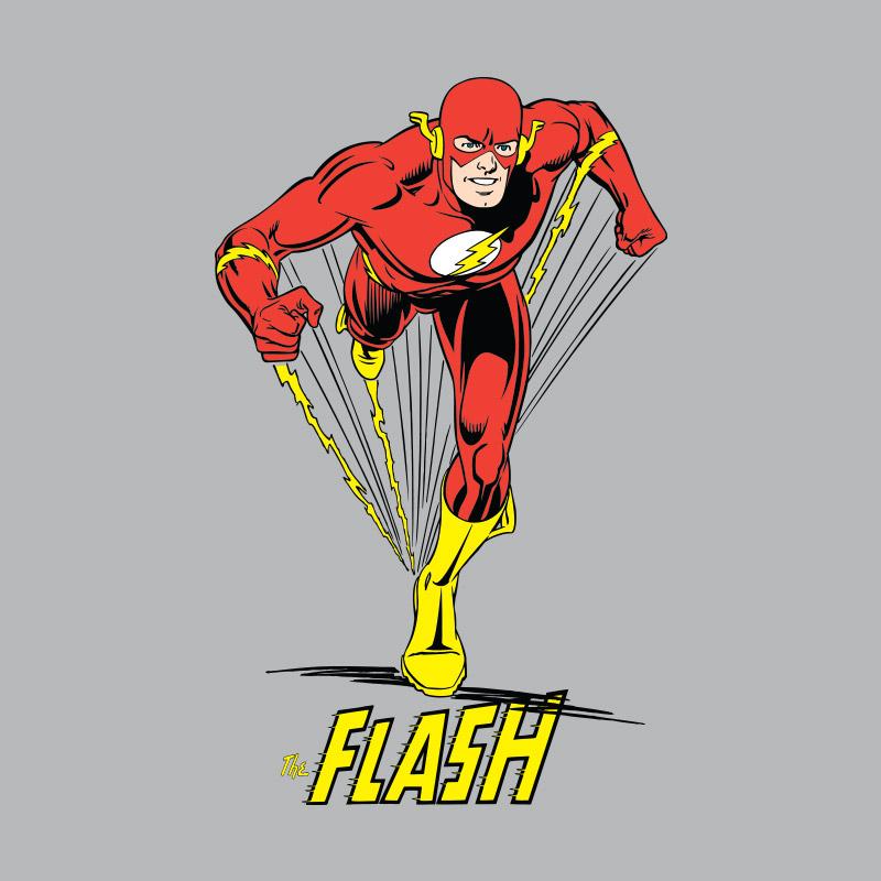 Camiseta Feminina The Flash Em Ação 2