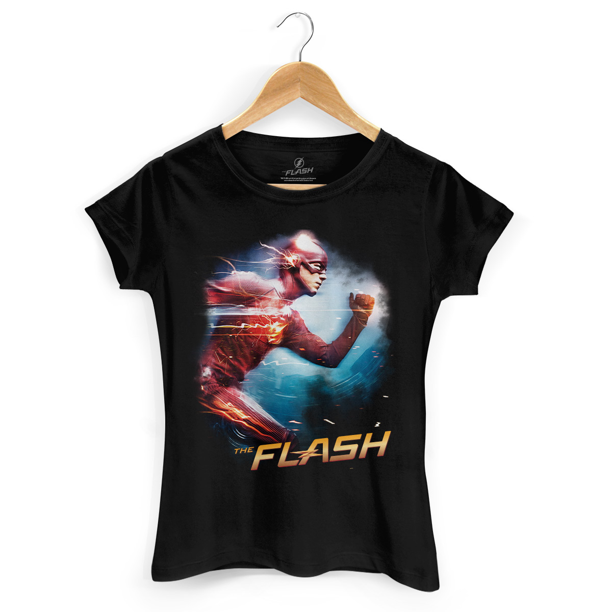 Camiseta Feminina The Flash Serie Running