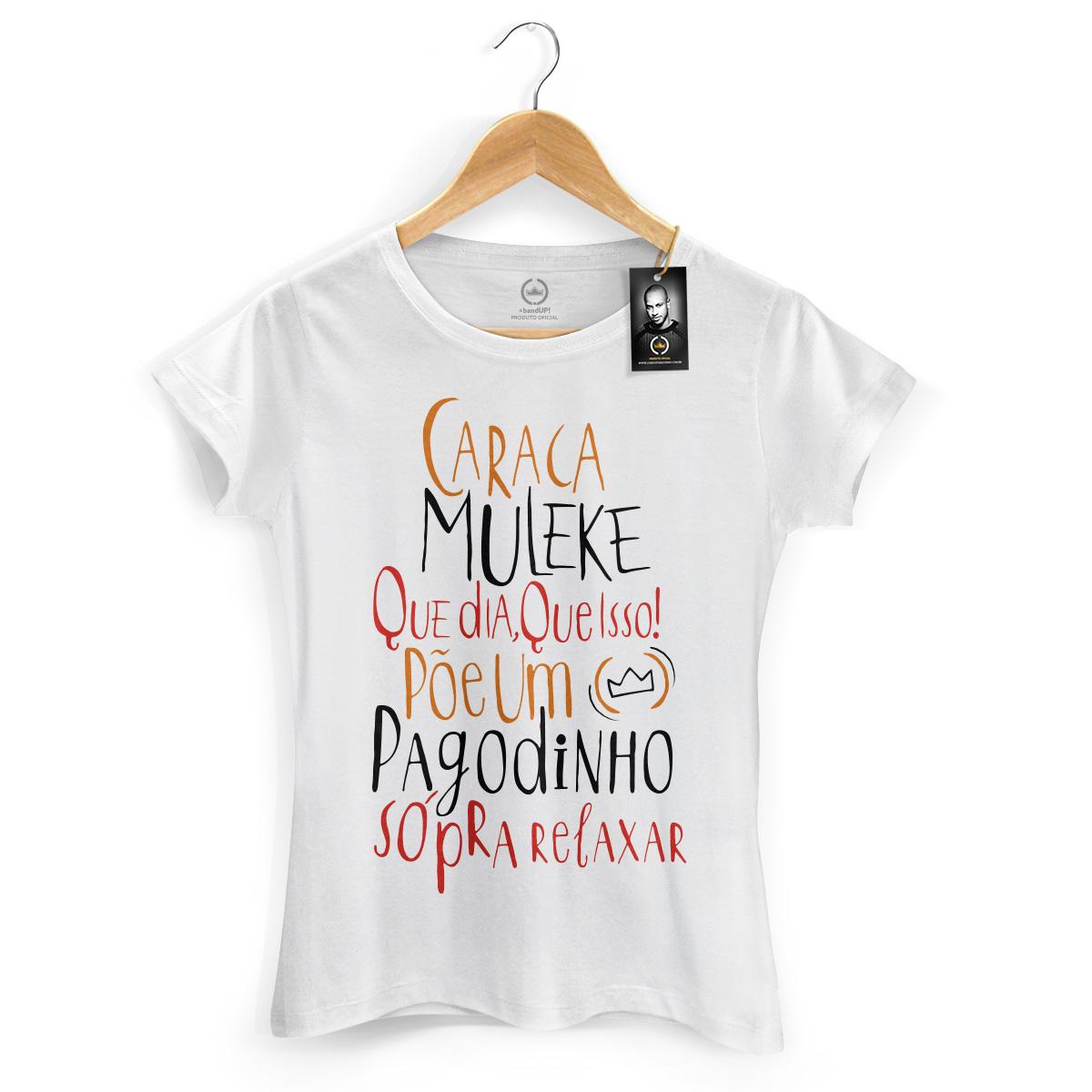Camiseta Feminina Thiaguinho Que Dia, Que Isso!