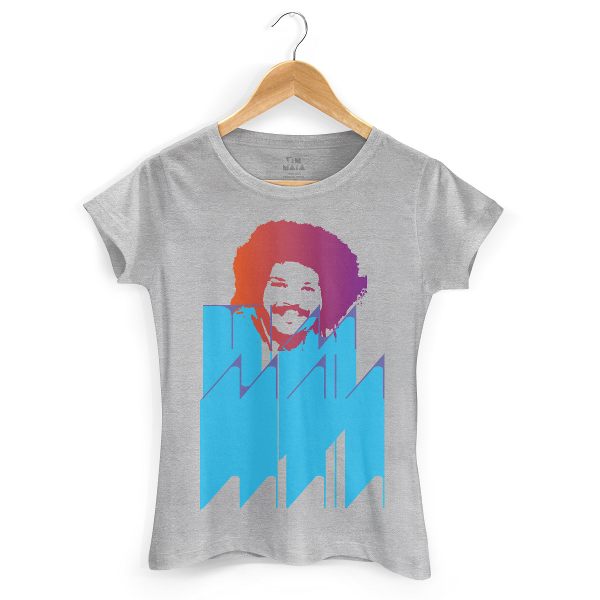 Camiseta Feminina Tim Maia Colors 2