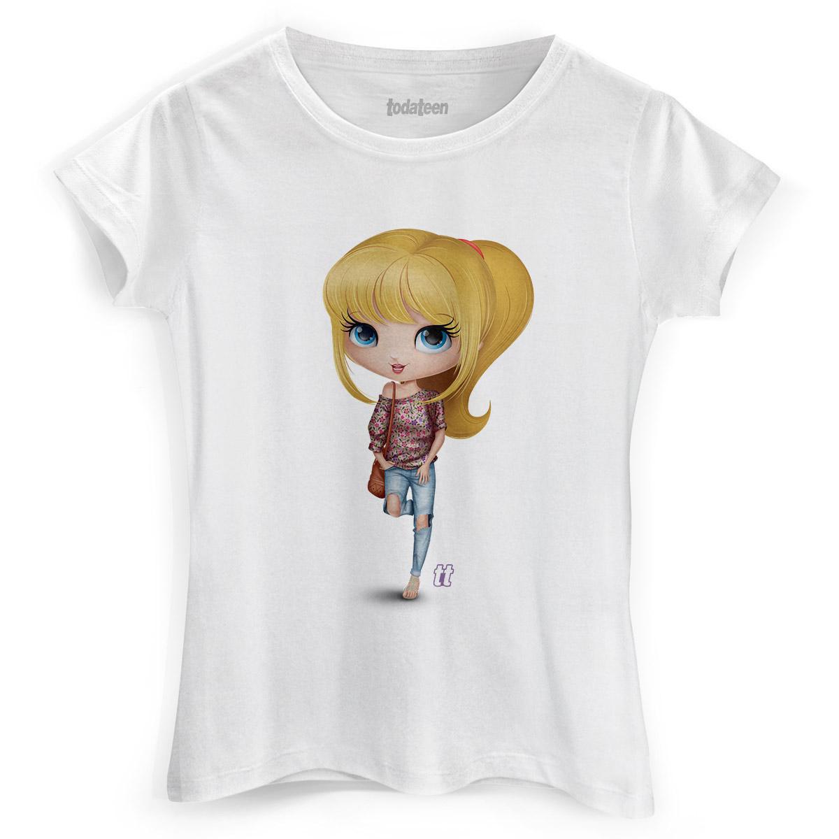 Camiseta Feminina TodaTeen Teena