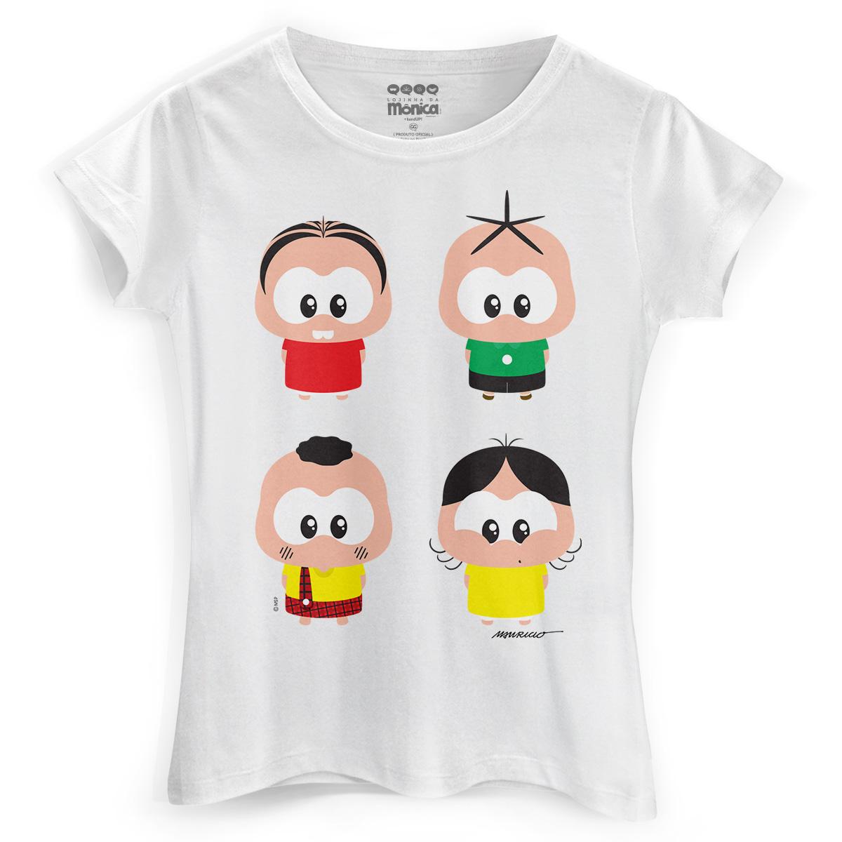 Camiseta Feminina Turma da M�nica A Turma Toy