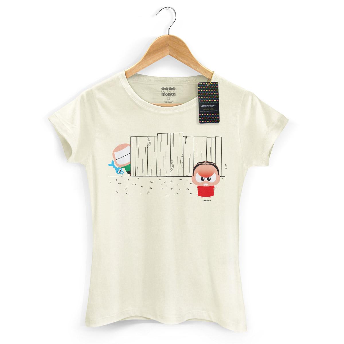 Camiseta Feminina Turma da M�nica Toy Angry M�nica