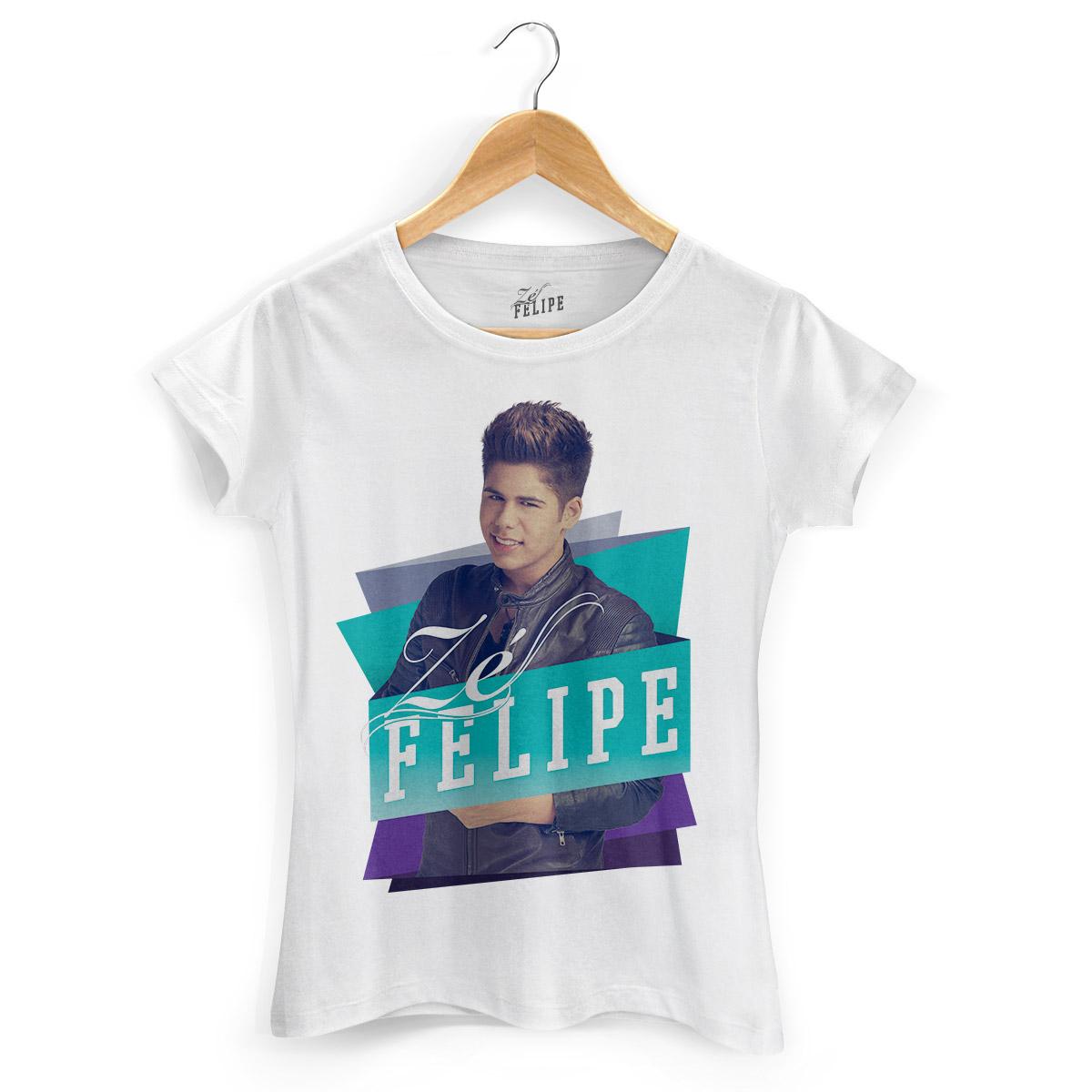 Camiseta Feminina Zé Felipe Colors