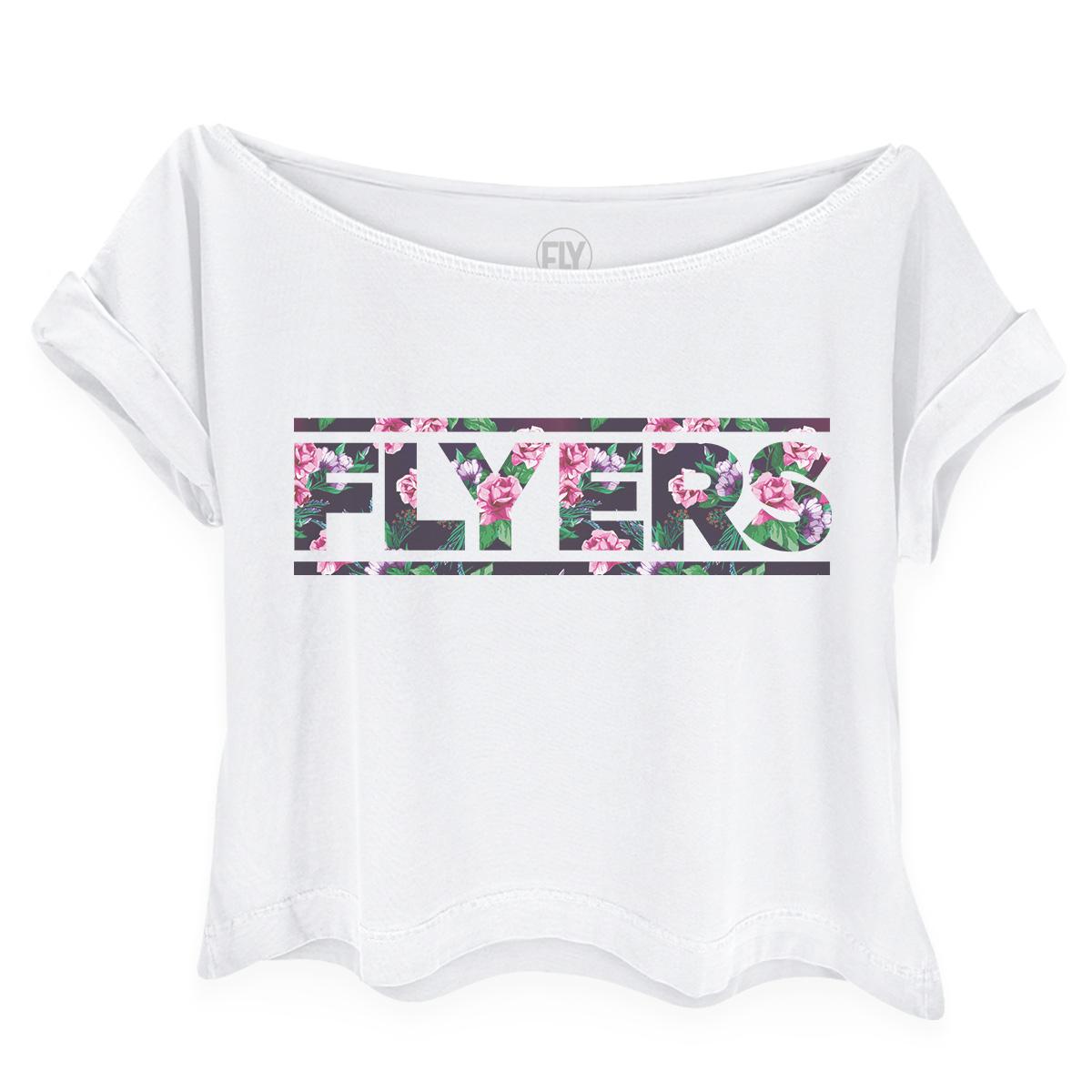 Camiseta Gola Canoa Banda Fly Flyers