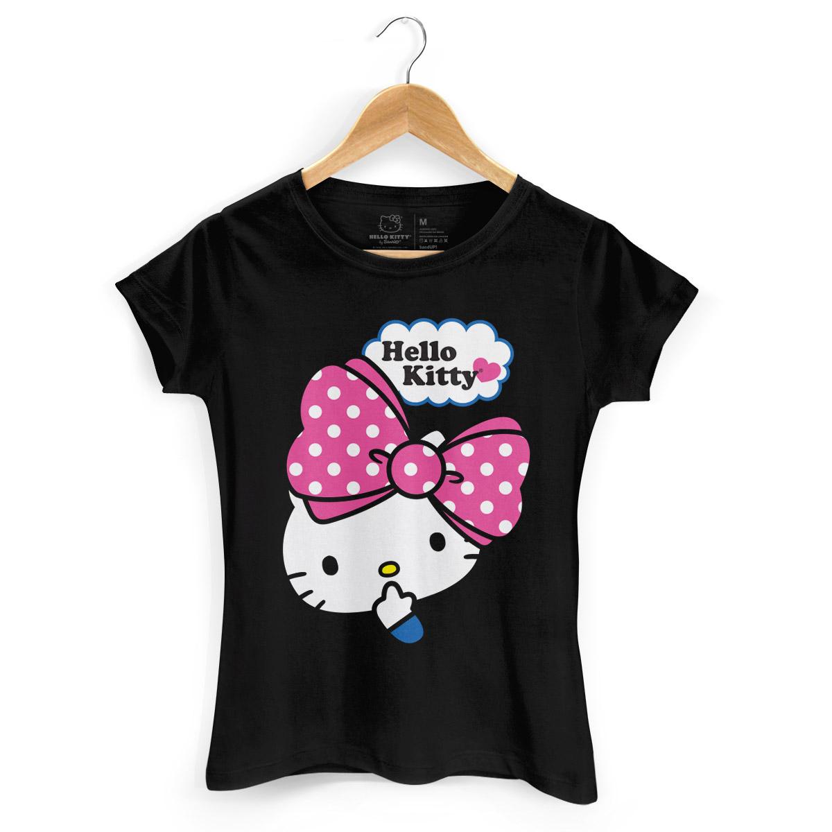 Camiseta Hello Kitty Big Ribbon