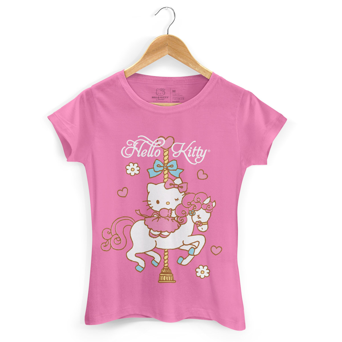 Camiseta Hello Kitty Carrossel