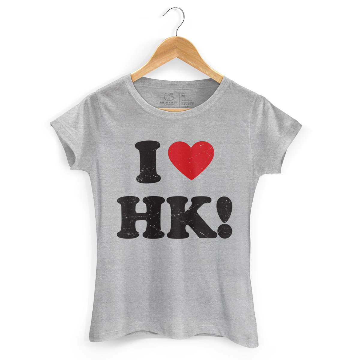Camiseta Hello Kitty I Love HK