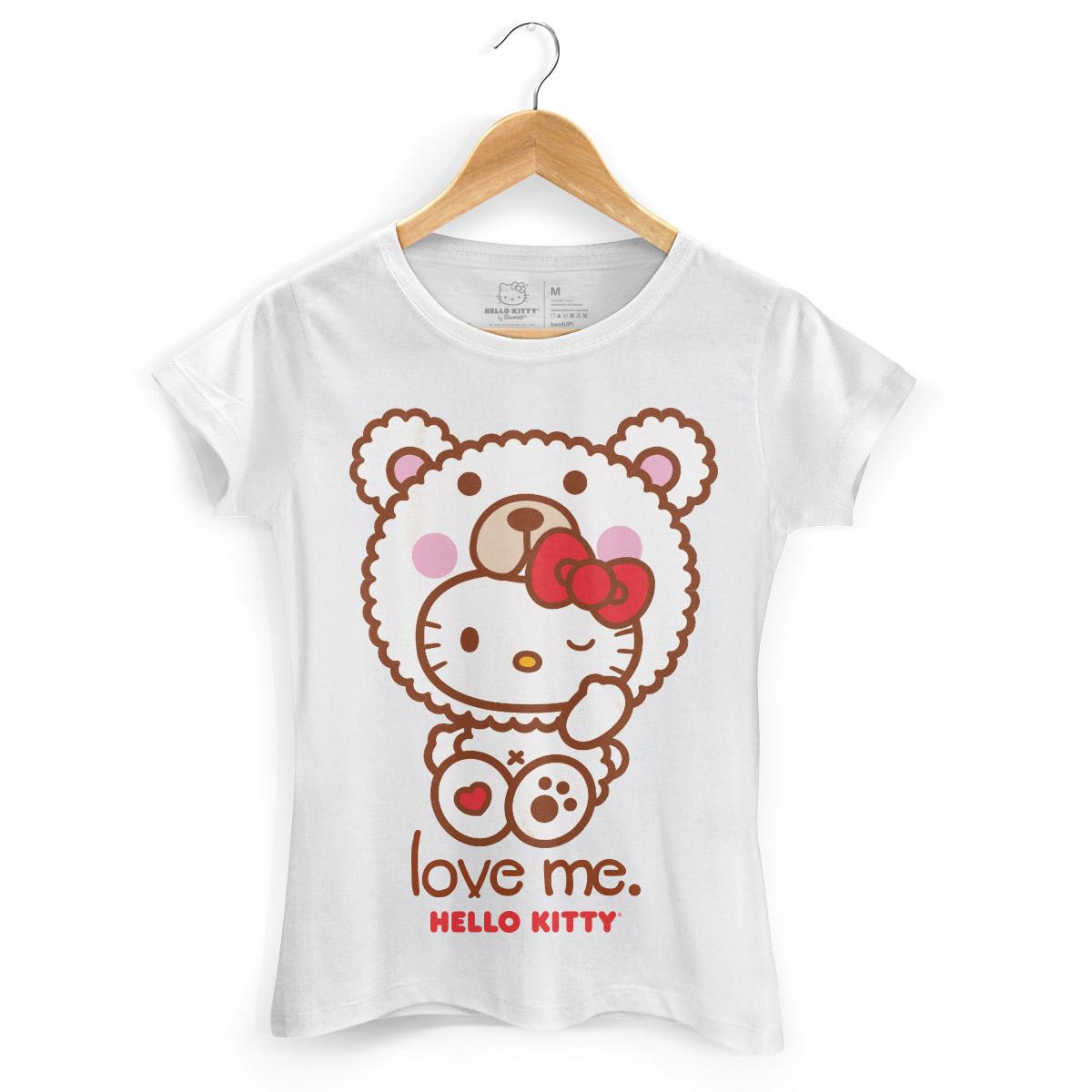 Camiseta Hello Kitty Love Me